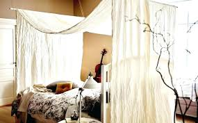 Canopy Bed Coverings King Size Canopy Bed With Curtains Full Size Of ...