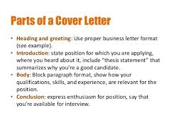 targeted cover letter 10 greeting on a cover letter