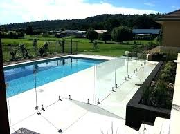 glass pool fence cost glass fence glass pool fence panels pool glass fence cost pool glass
