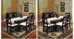 nice design area rug under dining table inspiring ideas room inside for remodel 16
