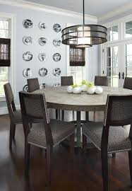 round kitchen table with leaf inch round dining table dining room contemporary with centerpiece crown molding