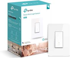 Tp Link Smart Wi Fi Light Switch Kasa Smart Light Switch By Tp Link Needs Neutral Wire Wifi Light Switch Works With Alexa Google Hs200 White 1 Pack