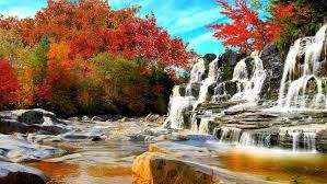 rocks landscape nature autumn