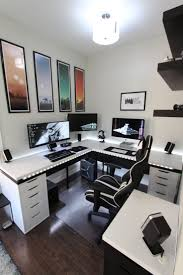 ... Attic Office Setup Custom Desksor Gaming Best Desk Ideas On Pinterest  Computer Pc Custom Desks For ...