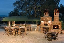 custom summerset barbecue island outdoor kitchen area