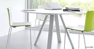 white round table small round office tables ark round white meeting tables colourful chairs small office