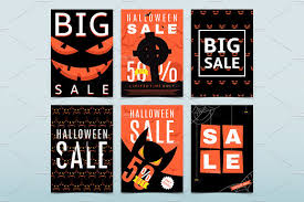 halloween sale flyer 12 posters for halloween sale flyer templates creative market