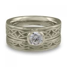 <b>Exquisite</b> Ethical Celtic <b>Engagement Ring</b> Sets Handmade by Celtic ...