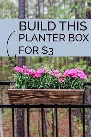the easiest 3 diy cedar planter boxes