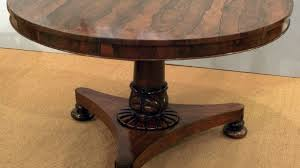 exquisite antique rosewood breakfast table large round at dining inside idea 19