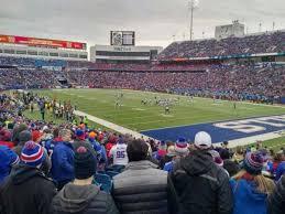 New Era Field Buffalo Seating Chart New Era Field Section 105 Row 25 Home Of Buffalo Bills