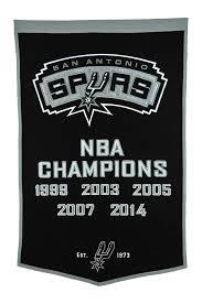 Spurs Embroidery Design Buy Winning Streak Nba San Antonio Spurs Dynasty Banner