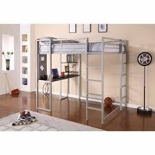 Space Saving Shelves Student Loft Bed Teen Desk Space Saving Metal Dorm Room Shelves