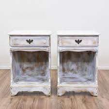 rustic white nightstand. Top 64 Superb Rustic White Nightstand Distressed Paint Dresser Cheap Nightstands Design T