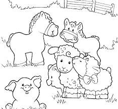 Farm Coloring Page Farm Printable Coloring Pages Colouring Page Of