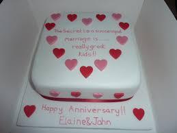 Anniversary Cake Cakes Cupcakes In 2019 Simple Anniversary