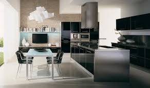 modern kitchens 2014.  Kitchens Kitchen Modern Minimalist Kitchen Furnished With Black And White  Kitchens 2014