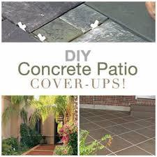 for concrete patio
