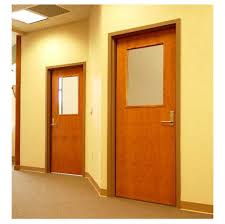 distinguished interior door with window simple common design for interior office door with clear glass