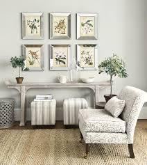 neutral inspired decor with grey accents