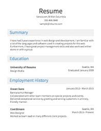 55 Sample Resume Format For Job Grand – Berabbani.info