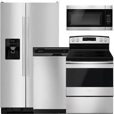 4Piece Stainless Steel Appliance Package