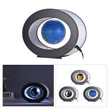 4 INCH <b>LED World Map Novelty</b> Magnetic Levitation Floating Globe ...