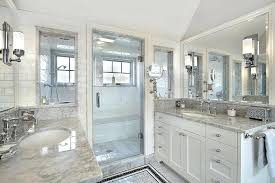 bathroom shower tile ideas white wooden base cabinets small round wash basins for small wall lamp