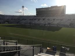 Ucf Baseball Stadium Seating Chart Spectrum Stadium Section 125 Rateyourseats Com