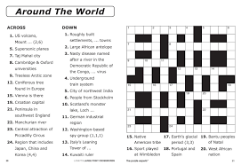 The page create a simple crossword puzzle, but you can make it as difficult as you like. Free Easy Printable Crossword Puzzles For Adults
