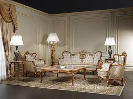 Italian Style Living Room Furniture Living Room Xix Made In Italy Vimercati Classic Furniture