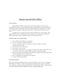 Police Officer Letter Of Recommendation Sample Cover Letter