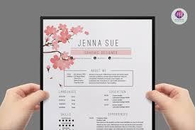 Smartness Design Pretty Resume Templates Free Creative Download