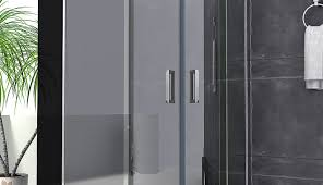 ove and neo shower inches doors frameless polished guides nickel parts seal tubs replacement angle rollers