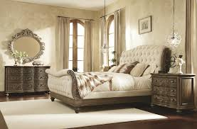 Modern Baroque Bedroom Tufted Bedroom Set