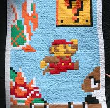 Mario Quilt - Game Over! by pipesdreams, via Flickr | Quilt Ideas ... & Mario Quilt - Game Over! by pipesdreams, via Flickr Adamdwight.com