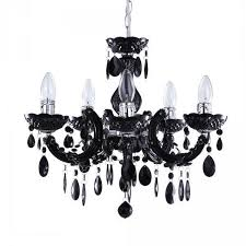 black acrylic chandelier marie therese coloured chandeliers