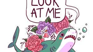 cute shark drawing tumblr. Perfect Shark Sharks And Food And Cute Shark Drawing Tumblr E