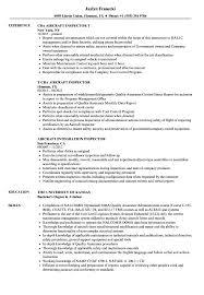 Ndt Inspector Resume Aircraft Inspector Resume Samples Velvet Jobs