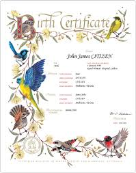 Element Birth Certificate Get A Birth Certificate Births Deaths And Marriages Victoria