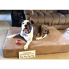 big barker dog beds. Exellent Barker Shop Big Barker 7inch Pillowtop Orthopedic Dog Bed Sleek Edition  Free  Shipping Today Overstockcom 9129719 To Beds 7