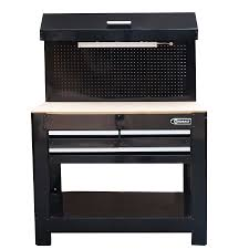 metal workbench with drawers. kobalt 45-in w x 36-in h 3-drawer wood work bench metal workbench with drawers