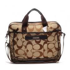 Coach In Monogram Large Khaki Business bags DHH