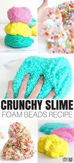 have you heard of crunchy slime and wondered exactly what s in it let s learn how