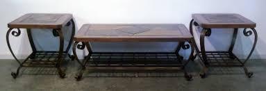 End Table And Coffee Table Set Coffee Table Set Framed Glass Top Coffee Table Set Looks Terrific