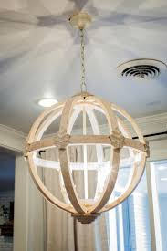 11 Ways To Get The Fixer Upper Look In Your Home - Page 4 of 4. Wooden  ChandelierGlobe ...