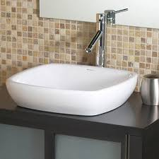 um size of bathroom wonderful bathroom square vessel sinks amalie classically redefined semi recessed ceramic