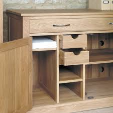 baumhaus mobel solid oak hidden home office cor06a baumhaus mobel solid oak hidden home office