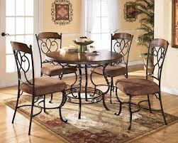 Painted Round Kitchen Table Kitchen Flawless Round Kitchen Tables With Regard To Painted