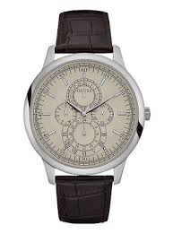 men s watches all buy men s dress sports watches online bryant silver tone crocodile leather watch